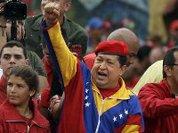 Чавес сплясал после регистрации кандидатом в президенты