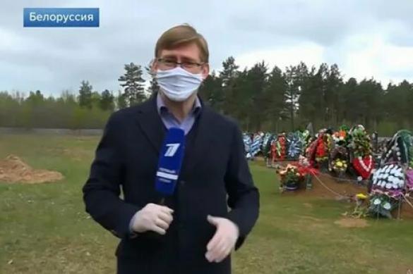 В Белоруссии за сюжеты о COVID лишают аккредитации: Первый пошел