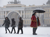 Морозы возвращаются в Москву и Санкт-Петербург