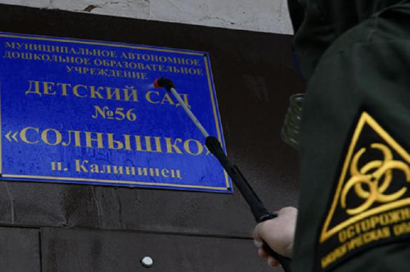 В Подмосковье военные провели спецобработку школ и детских садов