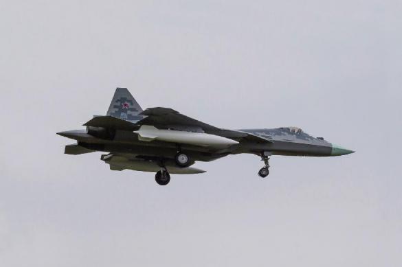 В Хабаровском крае разбился истребитель Су-57