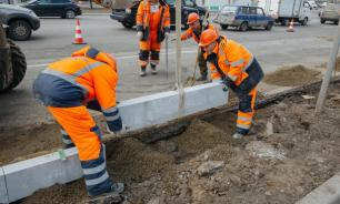 Москва потратит еще 3 млрд рублей на бордюры из гранита