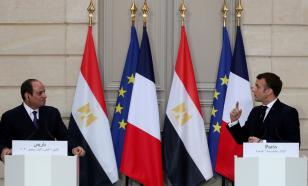 Президенты Франции и Египта горячо поспорили под прицелами камер