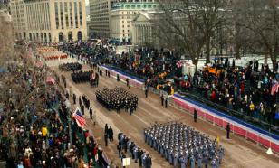 Американцы любят организовывать разные шоу и военные парады