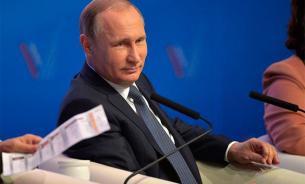 Эксперт: Праймериз, антироссийская агония и офшоры - Путин развеял сомнения журналистов