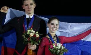 Мишина и Галлямов выиграли короткую программу на командном ЧМ в Осаке