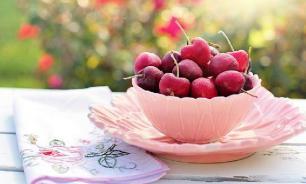 Употребление вишни повышает выносливость организма