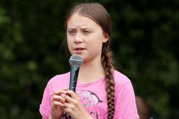 Трамп подшутил над 16-летней экоактивисткой