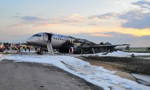 Основной версией крушения Sukhoi Superjet 100 в Шереметьеве стала ошибка пилотов