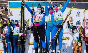 Сборная России выиграла женскую эстафету на этапе Кубка IBU в Словакии