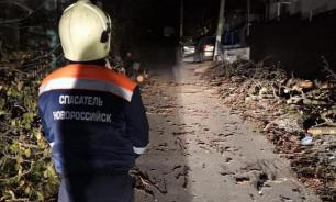 Сильнейший ураган накрыл Новороссийск