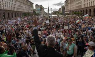 Митинг в Софии парализовал движение
