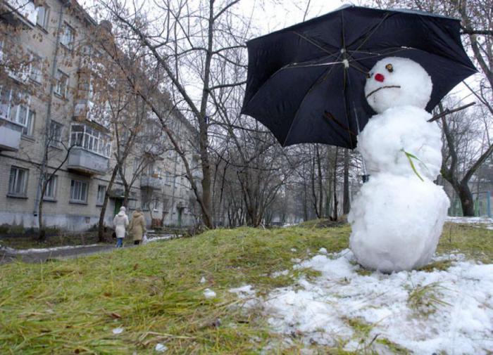 На 16º выше нормы: в центр России приходит аномальное тепло