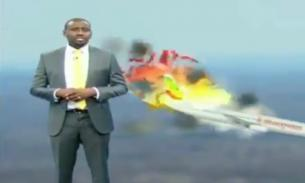 Ведущий из Кении возмутил зрителей иронией при рассказе о крушении Boeing