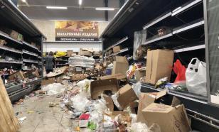Петербуржцы подрались из-за остатков порошка в Spar ВИДЕО