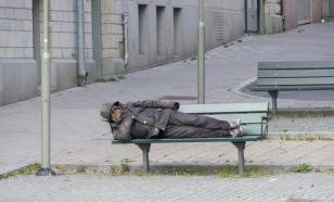 Опрос: 85% московских бездомных приехали из других регионов