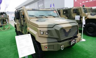 """Аналог Toyota Land Cruiser создадут на базе военного броневика """"Стрела"""""""