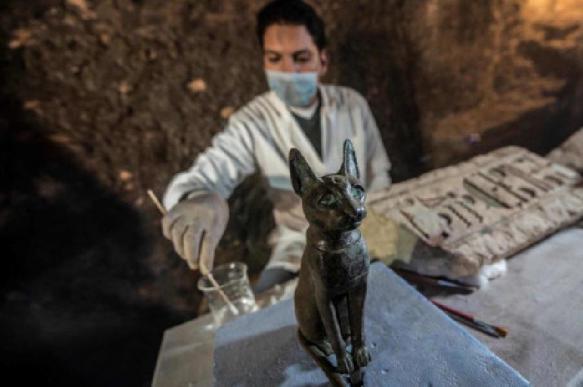 В древнеегипетской мумии кошки обнаружено еще несколько животных