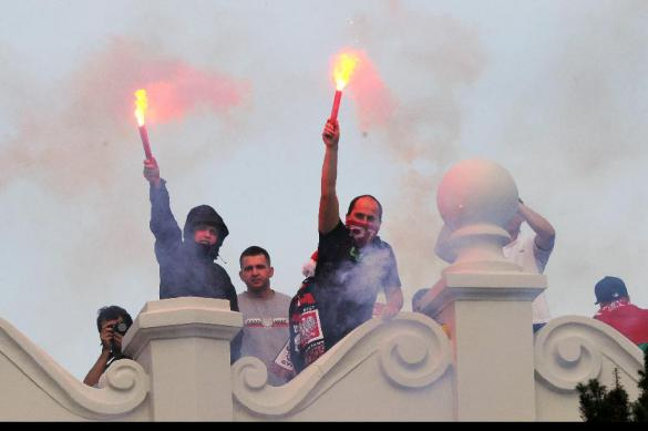 """Суд запретил фанату """"Спартака"""" посещать матчи полтора года"""