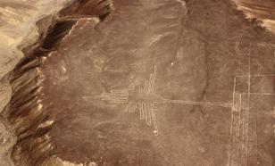 На плато Наска обнаружили древнейший геоглиф кошки