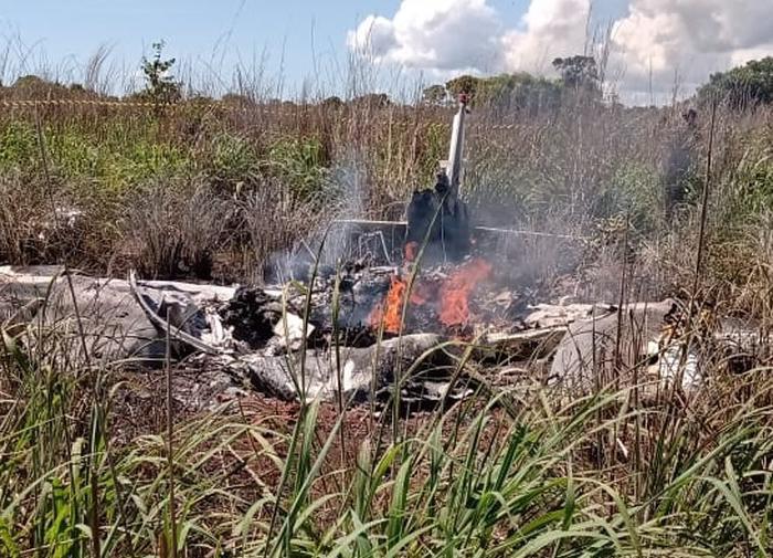 В авиакатастрофе погибли футболисты и президент бразильского клуба