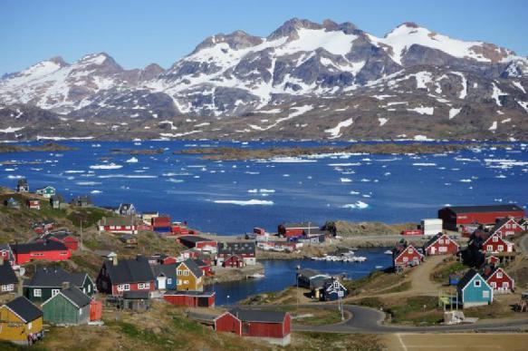 В Гренландии нашли древний вулкан, который образовался 95 млн лет назад