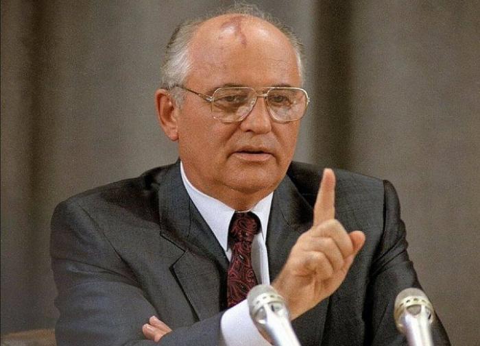 Михаилу Горбачёву - 90: поздравление Владимира Путина