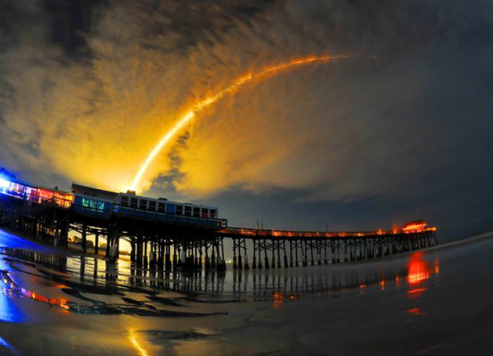 Во Флориде стартовала ракета Falcon 9 со спутниками Starlink
