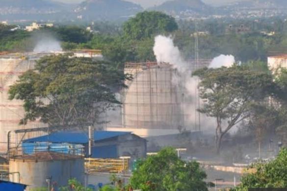 На заводе LG Polymers в Южной Индии произошла утечка газа. Есть жертвы
