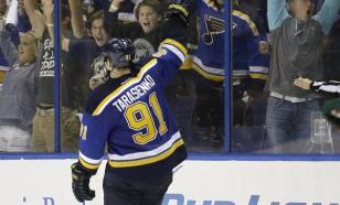 Русский Танк Тарасенко сделал дубль и стал героем дня в НХЛ