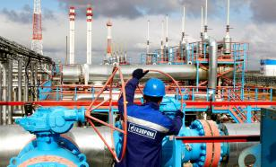 """Газпром"" снизил транзит газа поставщикам через Украину"