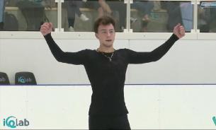 Алиев выиграл чемпионат России по фигурному катанию