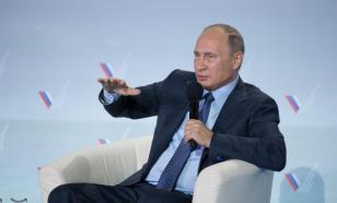 """Путин о блокаде Крыма: """"Думали, на колени встанем? Удивительные идиоты..."""""""