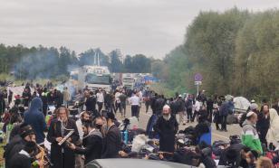 Сотни еврейских паломников застряли между Белоруссией и Украиной