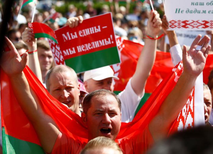 Соцопрос: россияне хотят видеть Белоруссию частью РФ