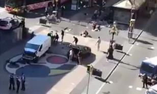 Атака в Европе: микроавтобус-фургон раздавил толпу в Барселоне