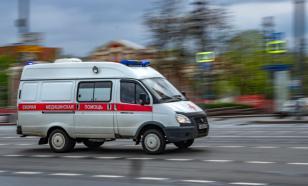 В Абакане таксист протаранил автомобиль скорой помощи
