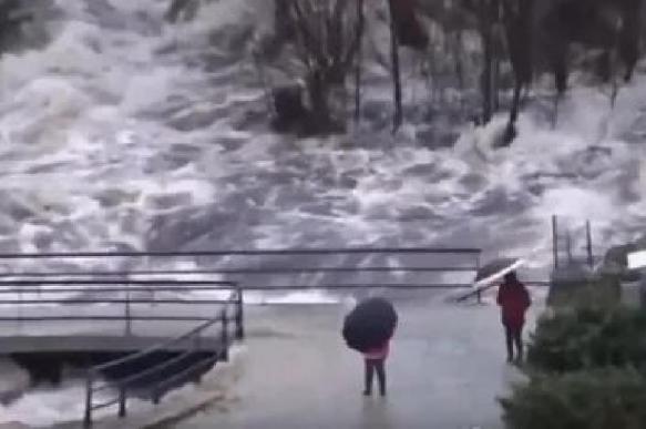 Зимний шторм обрушился на европейский юг