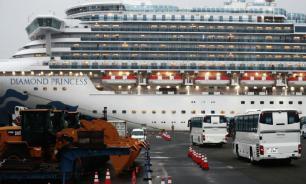 В Японии завершилась эвакуация с лайнера Diamond Princess