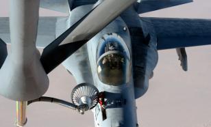Дозаправка Су-30СМ и Су-24М в небе: точность, слаженность, красота