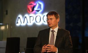 """АЛРОСА"" увеличила продажи в феврале на 7,5%"