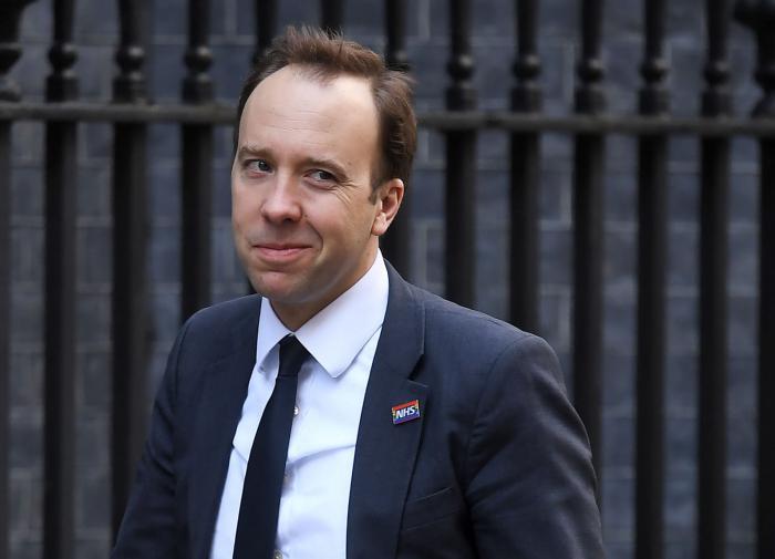 Глава Минздрава Великобритании ушёл в отставку из-за скандала с любовницей