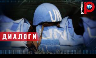 Паранойя Киева: Порошенко против идеи Путина направить в Донбасс миротворцев ООН