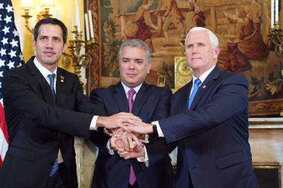 Марионетка США Гуайдо разочаровал венесуэльцев