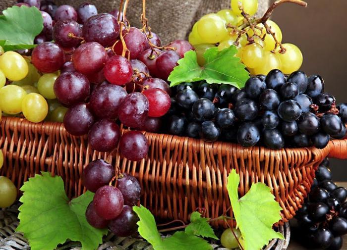 Виноград - витаминная бомба, избавляющая от разных проблем со здоровьем