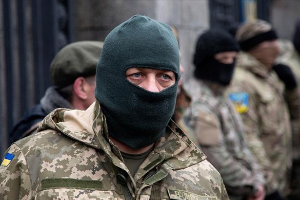 Грузинский мятеж в ВСУ. Там сделали вид, что ничего не было