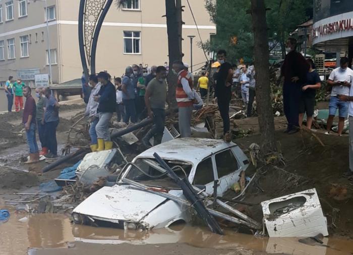 Из огня да в полымя: север Турции затопило