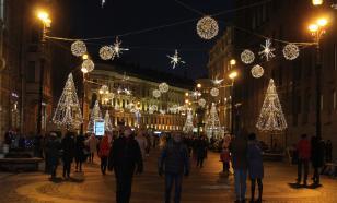 В новогодние праздники Петербург потерял 90% туристов
