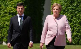 В Германии возмущены скромным приёмом Меркель в Киеве