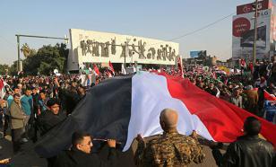 """В Багдаде прошел многотысячный митинг """"против турецкой оккупации"""" Ирака"""
